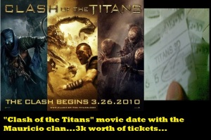 Clash of the Titans tix