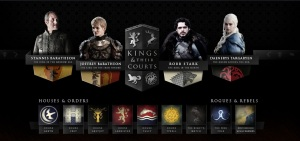 Game of Thrones King and Courts
