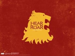 GOT House of Lannister Banner