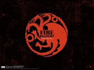 GOT House of Targaryen Banner