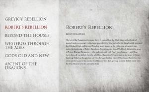 GOT ROBERT'S REBELLION