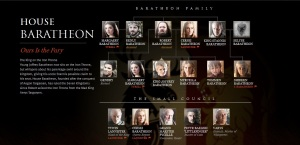 House Baratheon S3A