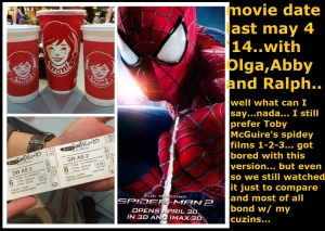 Movie date Amazing Spiderman2