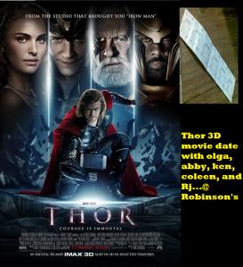 thor movie date