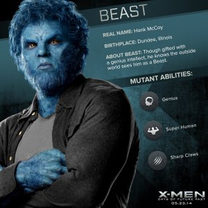 X-Men Days of Future Past Beast Powers