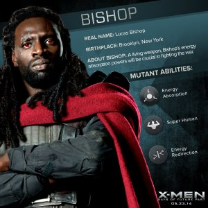 X-Men Days of Future Past Bishop Powers