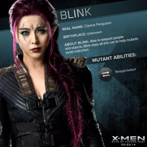 X-Men Days of Future Past Blink Powers