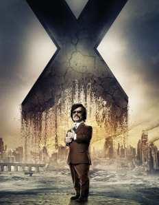 X-Men Days of Future Past Character Poster Bolivar Trask
