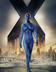 X-Men Days of Future Past Character Poster Mystique