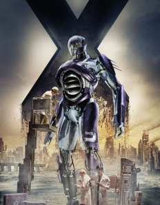X-Men Days of Future Past Character Poster Sentinel Mark-I
