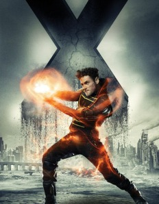 X-Men Days of Future Past Character Poster Sunspot