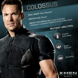 X-Men Days of Future Past Colossus Powers