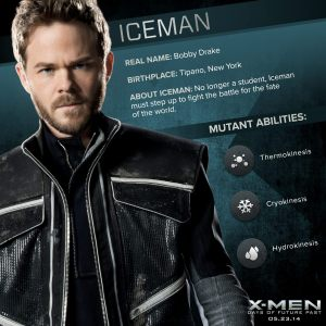 X-Men Days of Future Past Iceman Powers