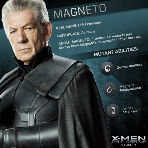 X-Men Days of Future Past Magneto Powers