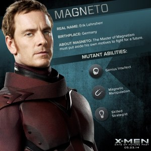 X-Men Days of Future Past Magneto2 Powers