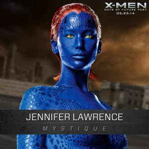 X-Men Days of Future Past Mystique Jennifer Lawrence