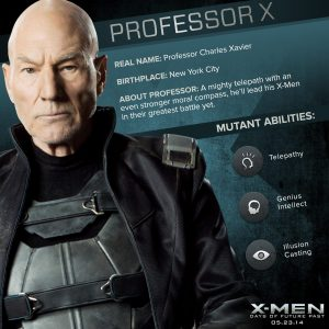 X-Men Days of Future Past Professor X Powers