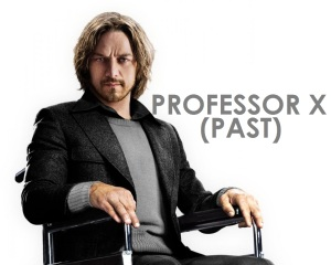 X-Men Days of Future Past Professor X Young