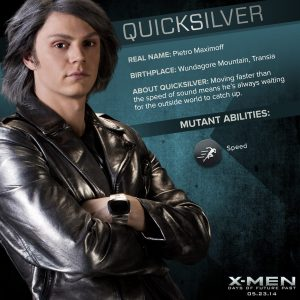 X-Men Days of Future Past Quicksilver Powers