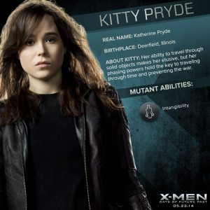 X-Men Days of Future Past Shadowcat Powers
