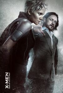 X-Men Days of Future Past Storm and Young Charles