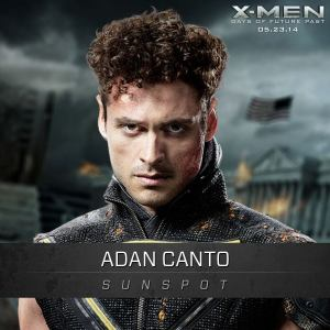X-Men Days of Future Past Sunspot Adan Canto