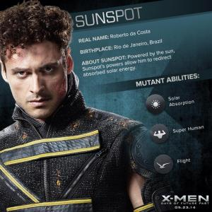 X-Men Days of Future Past Sunspot Powers