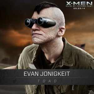 X-Men Days of Future Past Toad Evan Jonigkeit