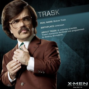 X-Men Days of Future Past Trask Info