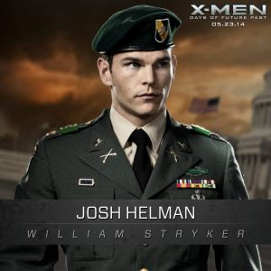 X-Men Days of Future Past William Stryker Josh Helman