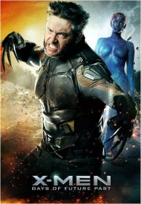 X-Men Days of Future Past Wolverine and Young Mystique 2