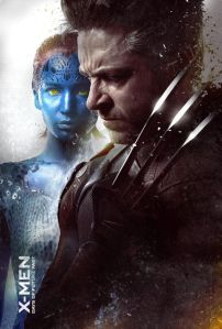 X-Men Days of Future Past Wolverine and Young Mystique 3