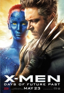 X-Men Days of Future Past Wolverine and Young Mystique