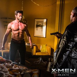X-Men Days of Future Past Wolverine Fight