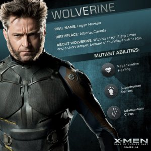 X-Men Days of Future Past Wolverine Powers