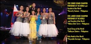 2013 WCOPA GRAND WORLD CHAMPIONS